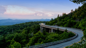 Appalachian Mountains Forest Mountain Road 2048x1265 Wallpaper