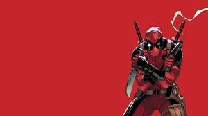 Deadpool Gun Knife Marvel Comics Wade Wilson Weapon 1920x1080 Wallpaper