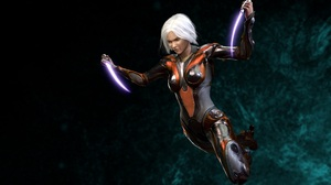Sci Fi Women Warrior 2540x1568 wallpaper