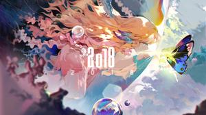 Blonde Blue Eyes Fairy Girl 4944x3359 Wallpaper