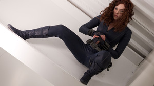 Black Widow Marvel Comics Women Scarlett Johansson Movies Actress Iron Man 2 Superheroines The Aveng 3999x2666 Wallpaper