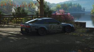 Forza Forza Horizon 4 Ultrawide Car Drift Drift Cars Drifting Video Games Nissan 240SX Nissan 240SX  3440x1440 wallpaper