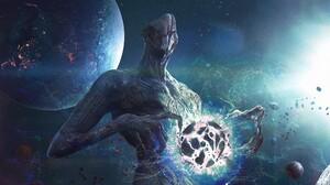 Creature Planet Sci Fi Space 1920x1080 Wallpaper