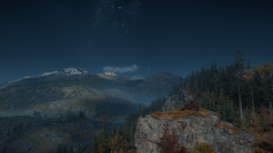 Assassins Creed Valhalla Landscape Trees Clouds Sky Mountains PC Gaming 3440x1440 Wallpaper