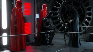 Star Wars Science Fiction Emperor Palpatine Star Wars Villains Darth Vader Imperial Guard Artwork Ar 3000x1875 Wallpaper
