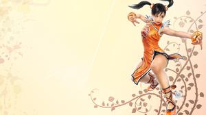 Bracelet Dress Girl Ling Xiaoyu Orange Dress Tekken Twintails 1920x1200 Wallpaper