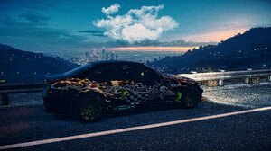 BMW M3 E46 BMW Widebody NFS 2015 Need For Speed Need For Speed 2015 Car City Cityscape RTR Wheels Ev 7652x4100 Wallpaper