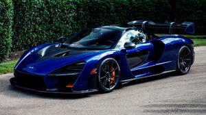 Blue Car Car Coupe Mclaren Senna Sport Car 1920x1080 wallpaper