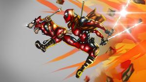 Deadpool Marvel Comics 3840x2744 Wallpaper