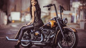 Custom Motorcycle Harley Davidson Thunderbike Customs 1920x1280 Wallpaper