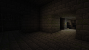 Minecraft Cave Screen Shot PC Gaming Video Games 1920x1080 Wallpaper