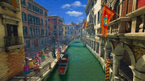 Artistic Venice 3840x2160 wallpaper