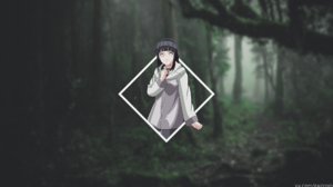 Anime Anime Girls Picture In Picture Hyuuga Hinata Road To Ninja Naruto The Movie 1920x1080 Wallpaper