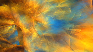 Abstract Apophysis Software Artistic Colors Digital Art Fractal Shapes 1920x1080 Wallpaper