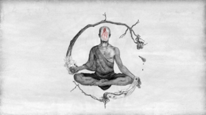 Sketches Monks Meditation Spiritual Metal Music 1920x1080 Wallpaper