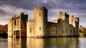 Man Made Bodiam Castle 3731x2332 wallpaper