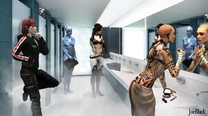 Jack Mass Effect Legion Mass Effect Liara T 039 Soni Miranda Lawson 1920x1080 Wallpaper