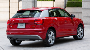 Audi Q2 Tfsi S Line Car Crossover Car Luxury Car Red Car Suv Subcompact Car 1920x1080 Wallpaper