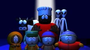 Alien Cow Eric Cartman Kenny Mccormick Kyle Broflovski South Park Stan Marsh 1920x1200 wallpaper