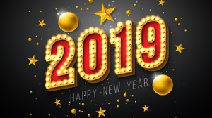 Happy New Year New Year 2019 6300x4361 Wallpaper