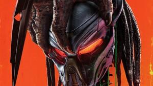 Movies Predator Creature The Predator Movie 2018 Year Helmet Orange 3840x2160 Wallpaper