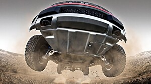 Ford Truck Jump Stop Action 1920x1200 Wallpaper