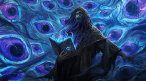 Fantasy Art Artwork Digital Art Necromancer Magician 1497x1100 Wallpaper