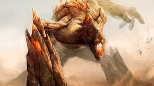 Monster Rock Battle Rift Video Game 1920x1440 Wallpaper