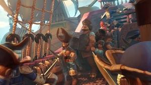 Fantasy Pirate 2560x1600 Wallpaper