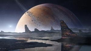 Reflection Planet 2560x1347 Wallpaper