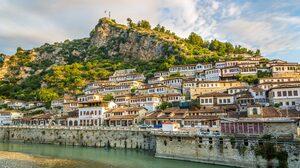 Albania Cityscape Landscape City Architecture 5120x2880 wallpaper
