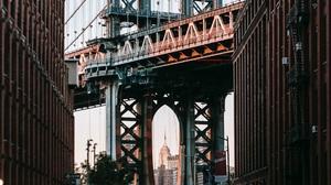 Architecture Bridge Manhattan Bridge New York City City 1920x1280 Wallpaper