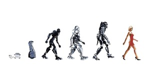 Women Robot Cylons Battlestar Galactica Toaster Humor Artwork NBC TV Tv Series White Background 1920x1080 Wallpaper