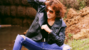 Blonde Fashion Indian Actors Male Models Long Hair Rajkumar Patra Hotter Hunks Leather Jackets Sungl 3840x2400 Wallpaper