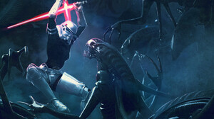 Alien Lightsaber Star Wars Stormtrooper Xenomorph 1920x1226 Wallpaper