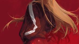 Anime Anime Girls Digital Art Artwork 2D Portrait Display Vertical Chi4 Neon Genesis Evangelion Asuk 2480x3508 wallpaper