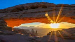 Mesa Utah Sunset 1920x1080 Wallpaper