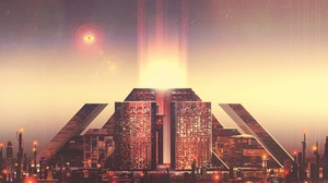 Blade Runner 2049 Building City Futuristic 1920x1200 Wallpaper