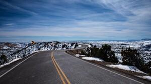 Landscape Sky Winter 4928x3280 Wallpaper