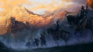 Fantasy Warrior 1954x1200 Wallpaper