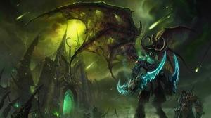 Illidan Stormrage Burning Crusade World Of Warcraft Video Games Black Temple 1920x1080 Wallpaper