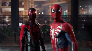Sony PlayStation Playstation 5 4K Spider Man Peter Parker Miles Morales Marvel S Spider Man 2 Insomn 3840x2160 Wallpaper