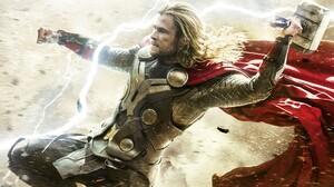 Thor Chris Hemsworth Superhero Marvel Comics 1920x1080 Wallpaper