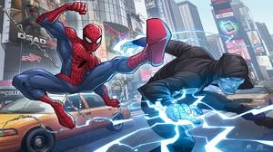 Electro Marvel Comics Spider Man The Amazing Spider Man 2 1920x1080 Wallpaper