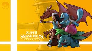 Charizard Pokemon Leaf Pokemon Pokemon Trainer Squirtle Pokemon Super Smash Bros Ultimate Venusaur P 3556x2000 Wallpaper