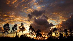 Earth Sunset 3840x2160 Wallpaper