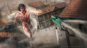 Attack On Titan Eren Yeager 1920x1080 Wallpaper