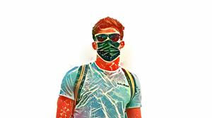 Portrait Painting Abstract Formula 1 Pier Gasly 3000x2000 Wallpaper