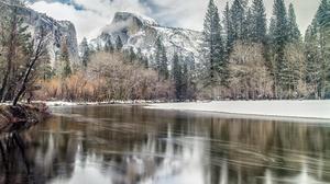 Nature Winter Snow Mountain 2048x1365 Wallpaper