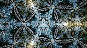 Artistic Digital Art Fractal Pattern 2560x1440 Wallpaper